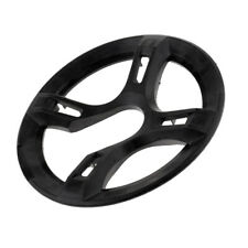 NiceDream68 Bicycle Bike Cycling Chainring Sprockets Cranksets Guard Protector 46T 4bolts-115mm Black