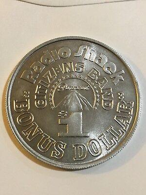Radio Shack Token CB Radio Coin $1 Token 1977 Citizens Band Bonus Dollar