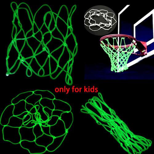 Glow In The Dark Basketball Hoop Net Luminous Shoot Training Sports Kid Gifts PL