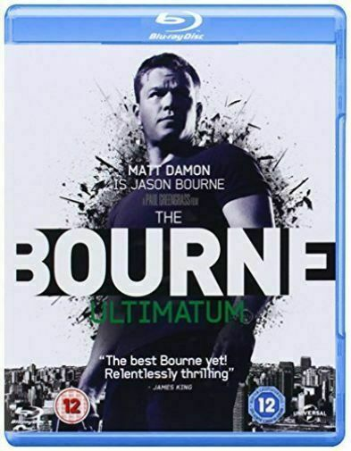 The Bourne Ultimatum 2007 Robert Ludlum Spy Thriller Uk Blu Ray For Sale Online Ebay