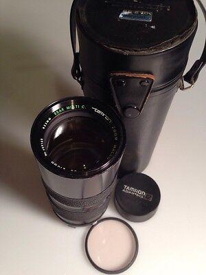 Tamron Zoom Macro 85~210mm f/4.5 Lens W/ Olympus Mount BBAR MULTI COATED Japan