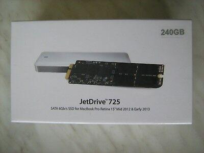 Transcend 240GB JetDrive 725 SSD Upgrade kit MacBook Pro Retina 15