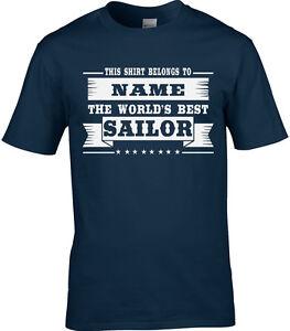 T-Shirt Gift Idea Sailing Boats Boating