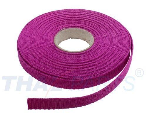 1,6mm stark Pink PP Taschengurt Taschenband 10m Gurtband 15mm Breit ca