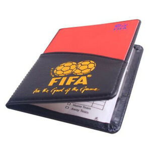 Referee-Cards-Red-Yellow-Football-Sport-Wallet-Notebook-Refs-Pencil-Soccer-O5A3