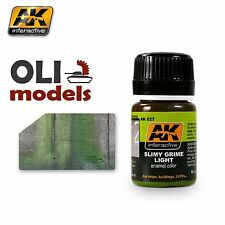 Weathering SLIMY GRIME LIGHT for Ships/Buildings Enamel 35ml  AK Interactive 027