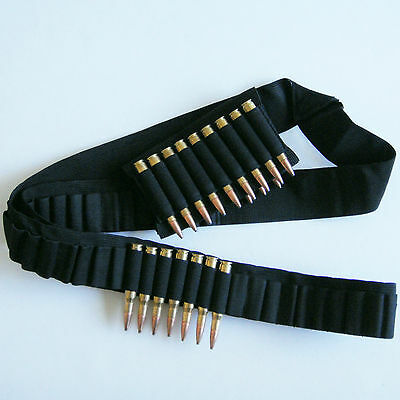 Heavy Duty Rifle 65 Shell Bandolier New 13 Shells Rifle Buttstock Holder