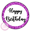Happy-Birthday-Party-Glitter-Style-Sweet-Cone-Birthday-Cake-Box-Gift-Seal-Hamper thumbnail 2