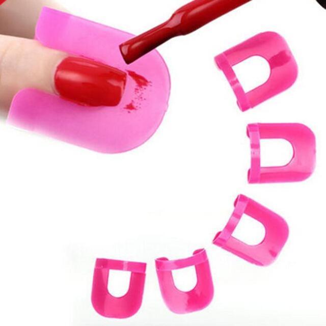 Beauty Nail Art Polish Protection Tip Nail Polish Application Tools Durable P3