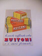 Raffinato catalogo Buitoni vintage anni '50