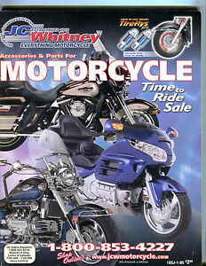JC Whitney Accessories & Parts For Motorcycles Catalog EX