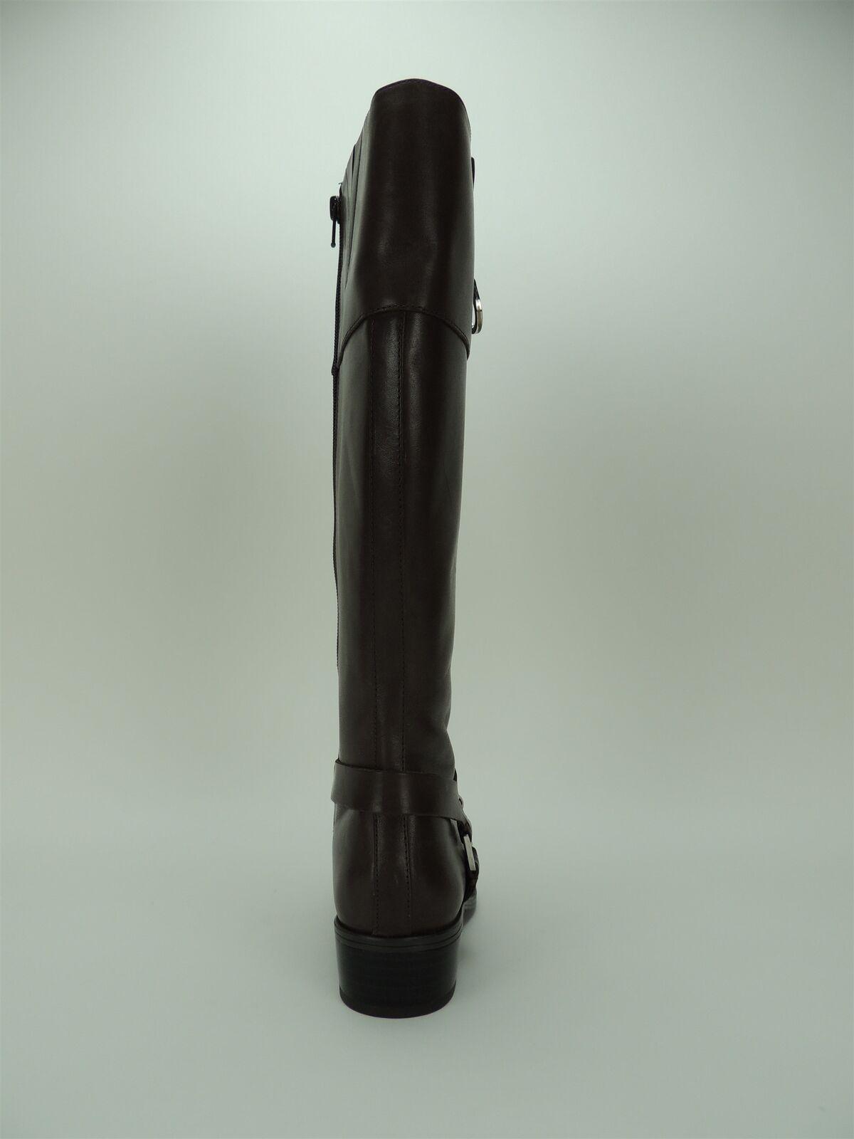 Lauren Ralph Lauren Lauren Ralph Mesa Mujer botas De Montar Talla Becerro Bruñido Negro 5.5 B e1a973