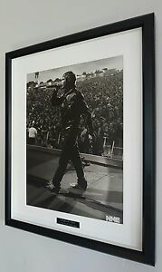 Ian-Brown-The-Stone-Roses-Framed-Original-NME-Plaque-Certificate-NEW-RARE
