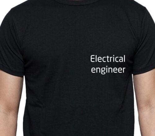 ELECTRICAL ENGINEER T SHIRT PERSONALISED TEE JOB WORK SHIRT CUSTOM