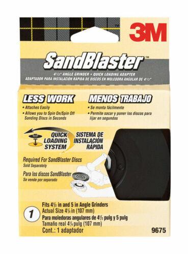 Ceramic Blend  Bolt-On  Sanding Disc Adapter  1 pk 3M  SandBlaster  4.5 in