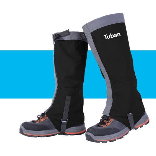 M//L Unisex Snow Kneepad Waterproof Leg Gaiters Snow Ski Boot Cover Protection