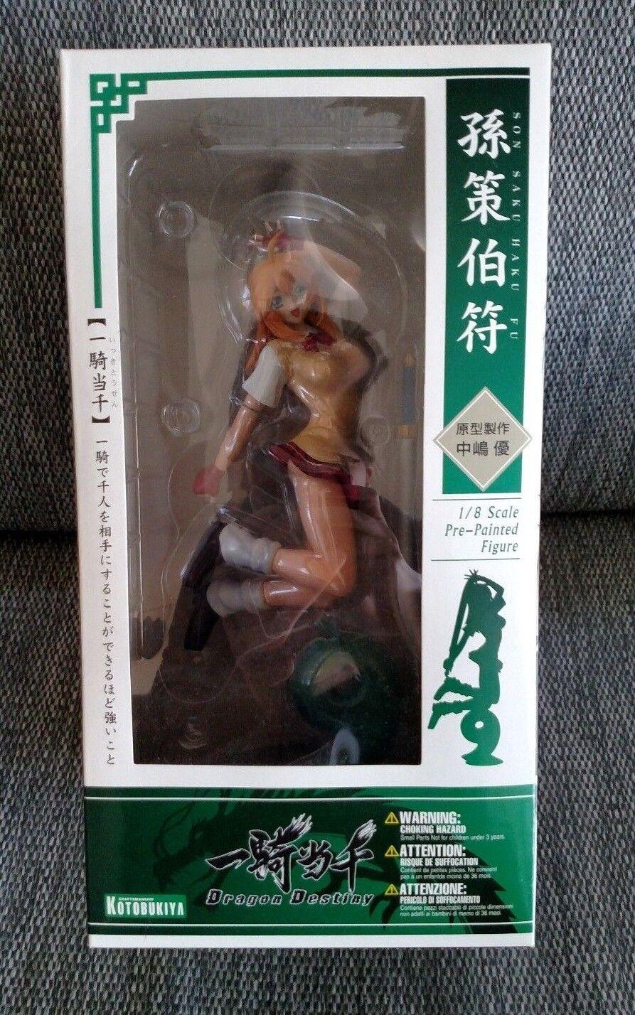 Ikki  Tousen Dragon Destiny  Sonsaku Hakufu 1 8 Scale PVC cifra by Kotobukiya  sconti e altro