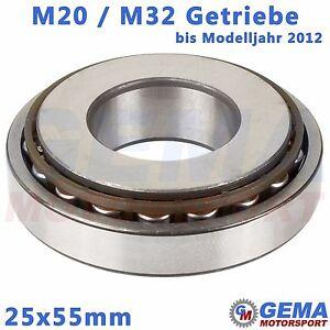 25x55mm-Lager-M32-Getriebe-M20-Abtriebswelle-25mm-Opel-Zafira-B-Astra-H-Ingisnia