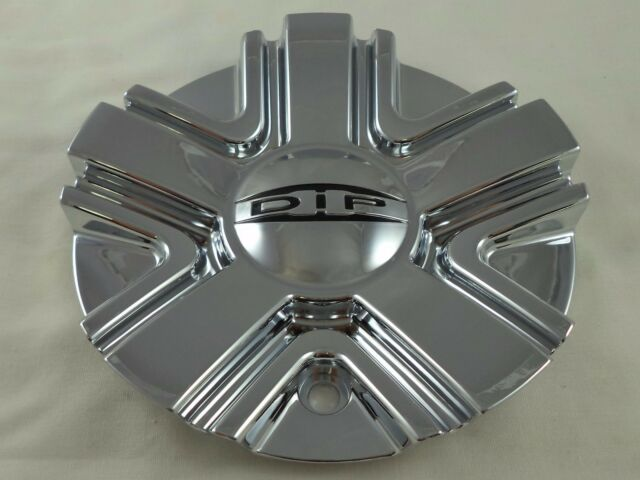 DIP Ice Wheels C10D67 11522280F-1 Chrome Wheel Center Cap