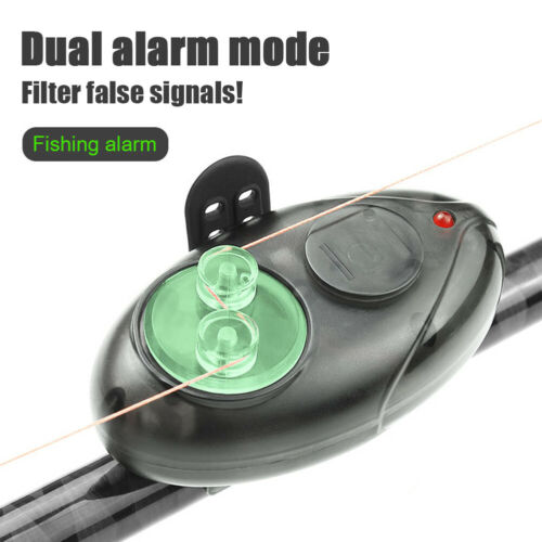 Electronic Night Fishing Alarm Carp Fish Bite Gear Alert Buffer Indicator