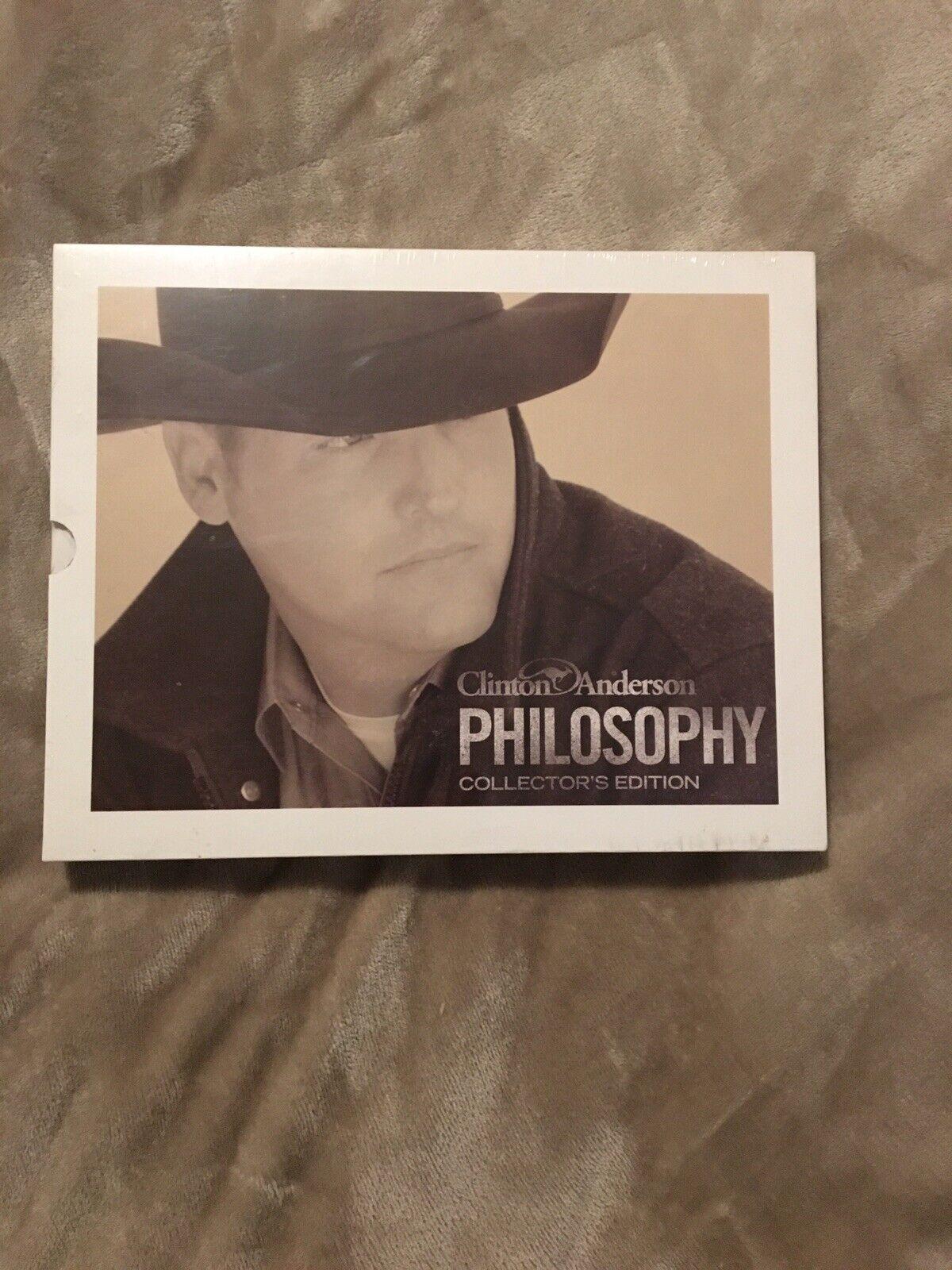 New Clinton Anderson Philosophy Book Collectors Edition