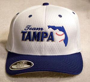 089a8702555 Richardson R-FLEX Team Tampa Hat Cap PRO 495 SM-MED White   Blue
