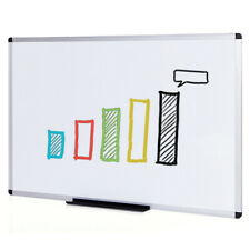 Viz Pro Dry Erase Boardwhiteboard Non Magnetic Wall Mounted Board For Home
