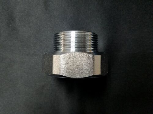 "Equip B-3945 2/"" NPT Female x 1-1//2/"" NPT Male Adapter"