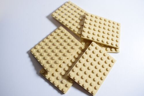 Lego Genuine Pack of 6 plates 6x8 Part number 3036 Choose your colour JOB LOT
