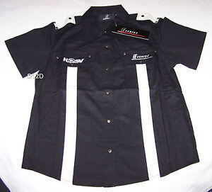 Holden-Special-Vehicles-HSV-E-Series-Ladies-Black-Pit-Crew-Shirt-Size-10-New