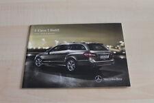 123838) Mercedes E-Klasse W212 T-Modell - Preise & Extras - Prospekt 01/2012