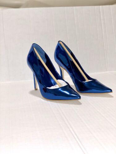 Guess blixee blue superior mirror pumps NIB Size 9,5