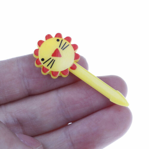 10X Cute Animal Fruit Forks Dessert Fork Toothpick Kids Tableware Food Picks/&LZT