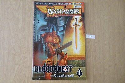 Devoto Gw Warhammer Mensile-issue 33 2000 Ref:1420-mostra Il Titolo Originale