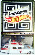 2015 HOT WHEELS MEXICO CONVENTION GLOW IN THE DARK GHOSTBUSTERS ECTO-1