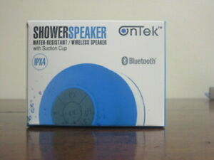 Details about Ontek Bluetooth Shower Speaker With Suction Cup Wireless -  Various colors