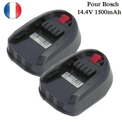 GC Batterie PBA 12 Power4All pour Bosch PSR PSB PMF Série Verte 10.8V-12V 1.5Ah