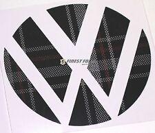 Emblem Ecken Jacky Stoffmuster hinten VW Golf 6 VI GTI GTD R Turbo Logo