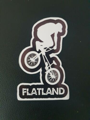 LQQK!! Flatland freestyle bmx Decal.