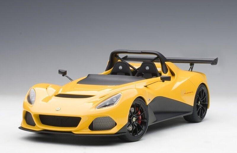 Autoart 75393 - 1   18 lotus 3-eleven - gelb - neu