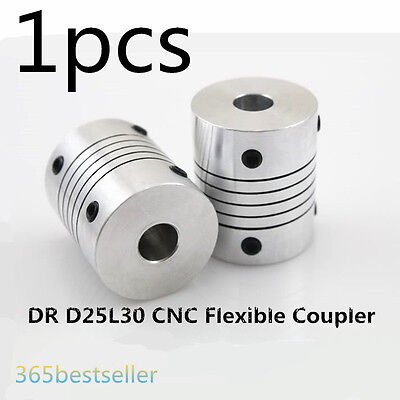 DR D25L30 CNC Flexible Coupling Shaft Coupler Encode Connector  Shaft 5-14mm