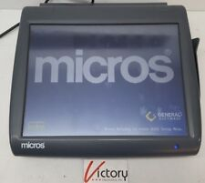 Used Micros Workstation 5 System Unit400814 001touch Screen Withwindows V 05
