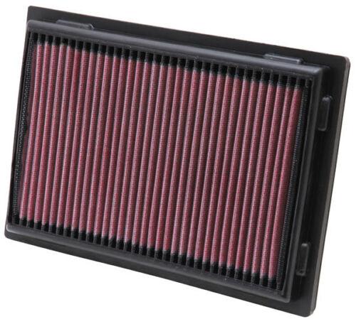 K/&N HIGH FLOW AIR FILTER X2 FOR LEXUS LS460 4.6 V8 07-15 33-2381
