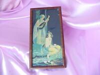 Vintage Marygold Orientalist Art Deco Print Moon of Delight Courtship Scene