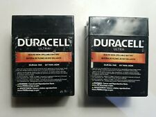 2x Dura6 14a 6v 14ah Battery Upgrade For Parmak 901 Free Shipping