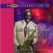 Bull Moose Jackson - Proper Introduction to (Bad Man Jackson, 2004) SEALED CD
