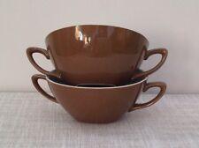 Midwinter Stylecraft Two Handled Soup Bowls English Ceramics