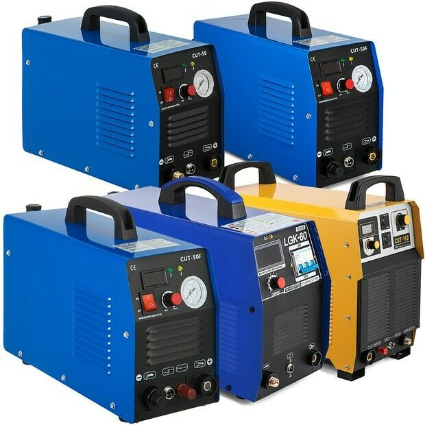 50-100Amp Air Plasma Cutter, Pro  Inverter Plasma Cutting Machine cut  10-40mm