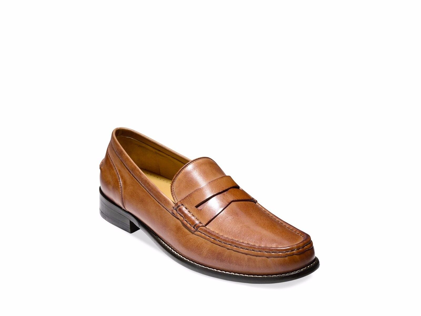 New Cole Haan Britton Penny Loafers Brown 7.5M Slip On