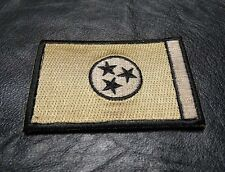 TENNESSEE STATE TN FLAG TACTICAL MORALE MULTITAN HOOK PATCH